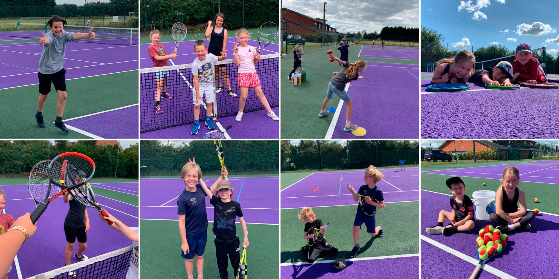 children's Tennis Coaching with Sasha Taylor