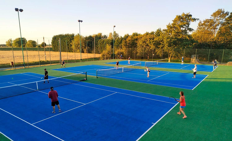 wistow tennis club night