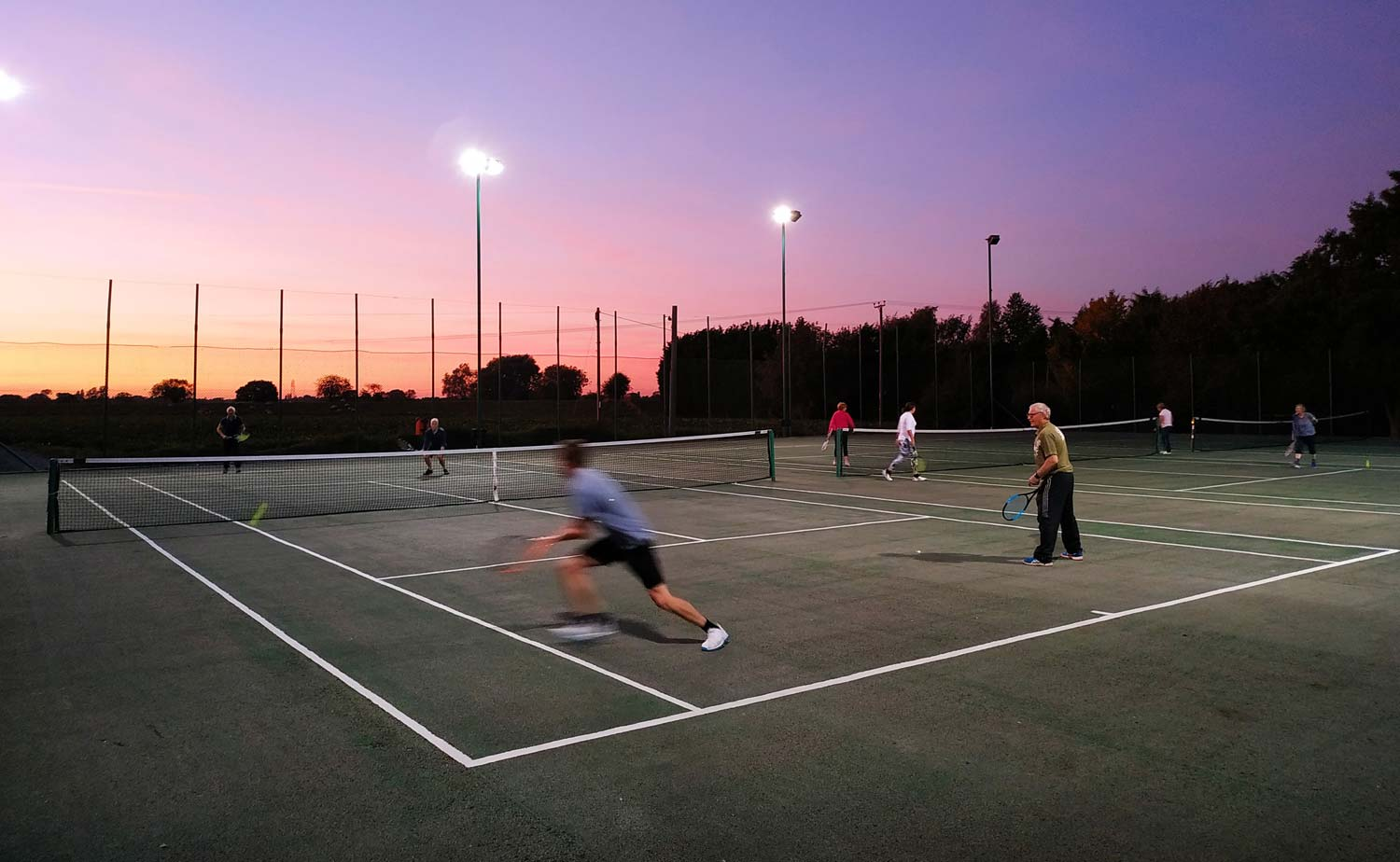 Wistow Tennis Club night